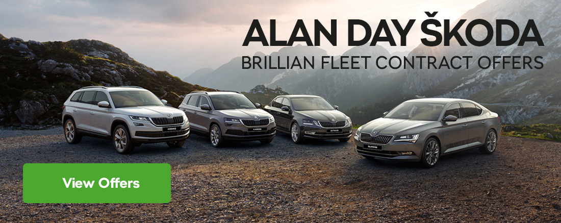 Alan Day ŠKODA Brilliant Fleet Contract Offers