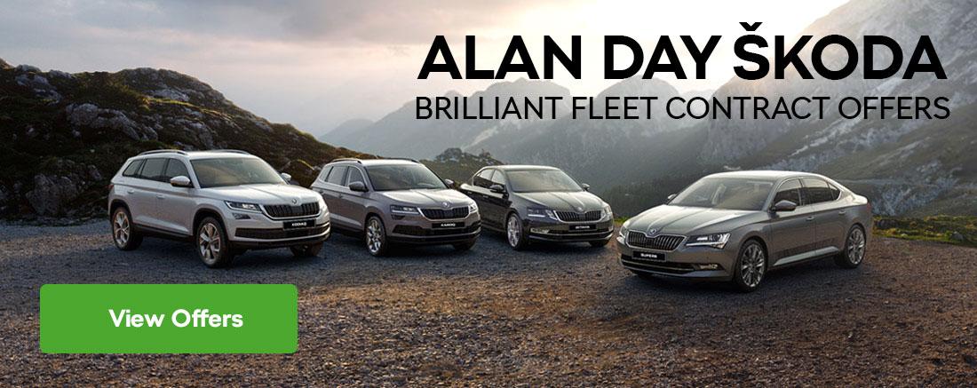 Alan Day ŠKODA Brilliant Fleet Contract Offers