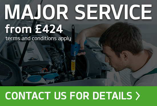 Skoda Major Service Offer