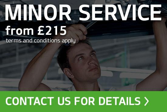 Skoda Minor Service Offer
