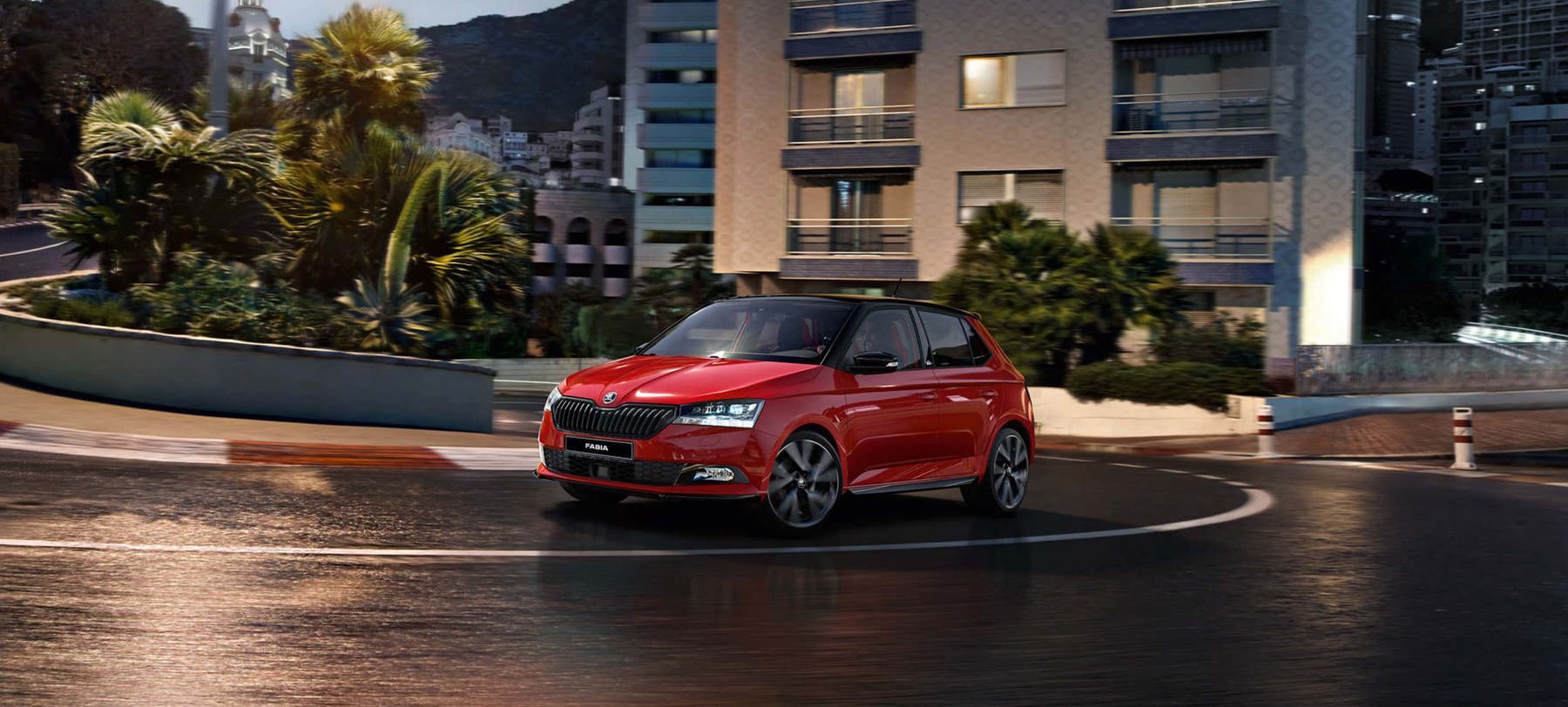 Red Fabia