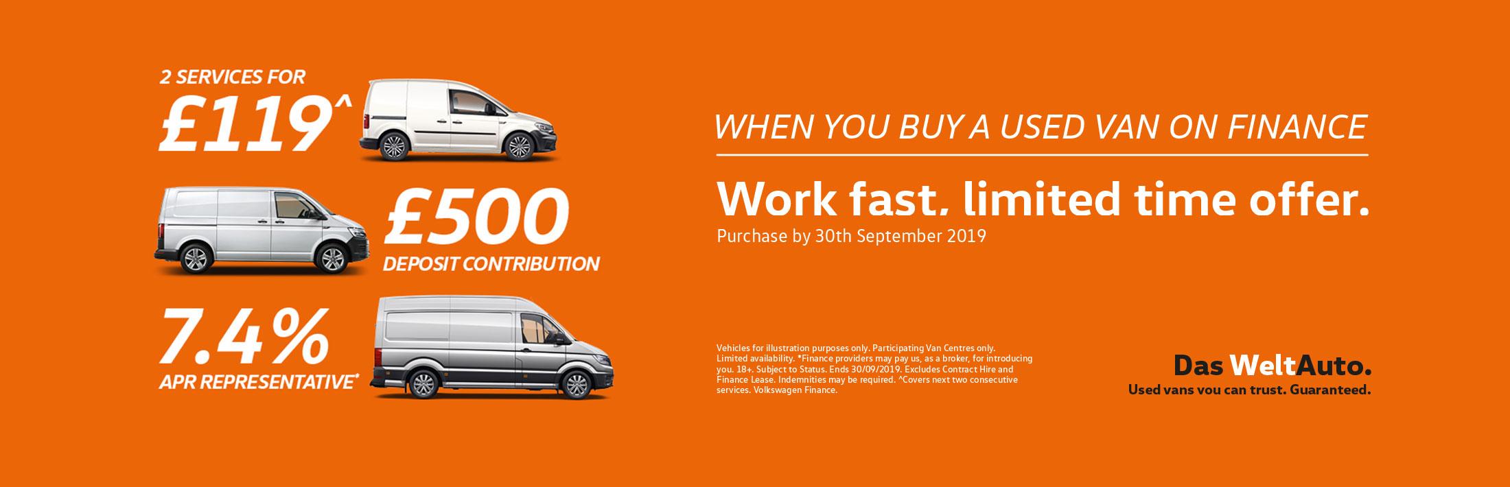 VW Van Offers