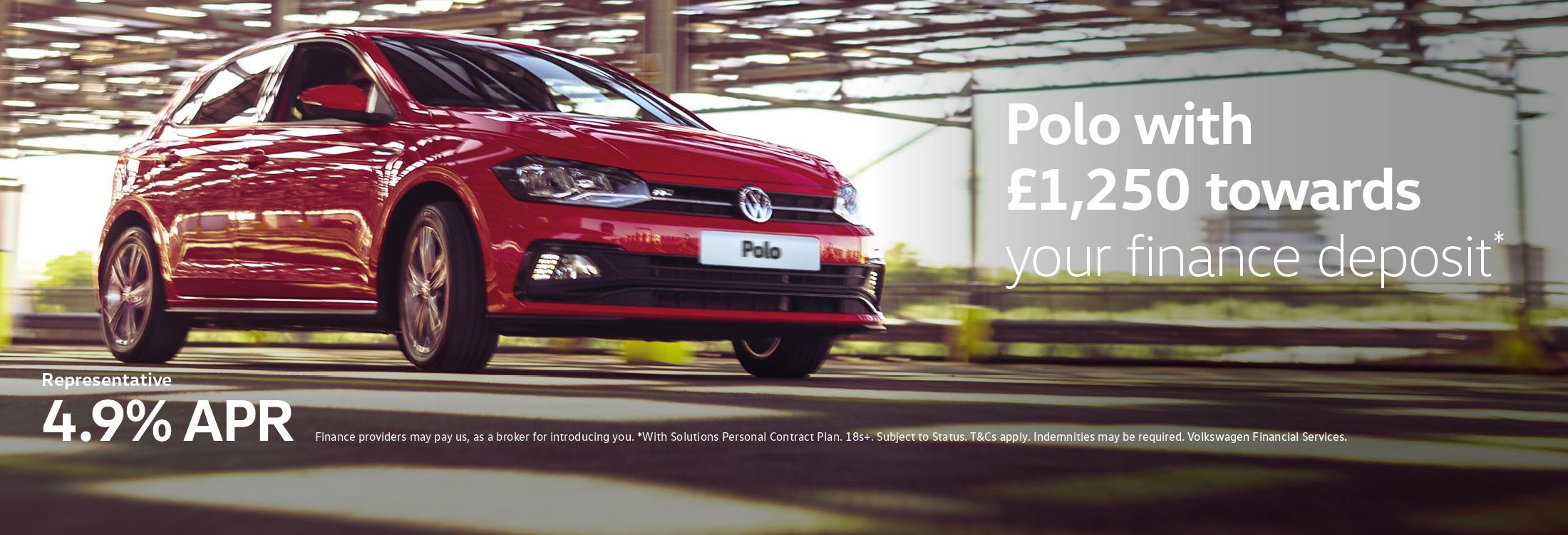 Polo £1250 4.9%