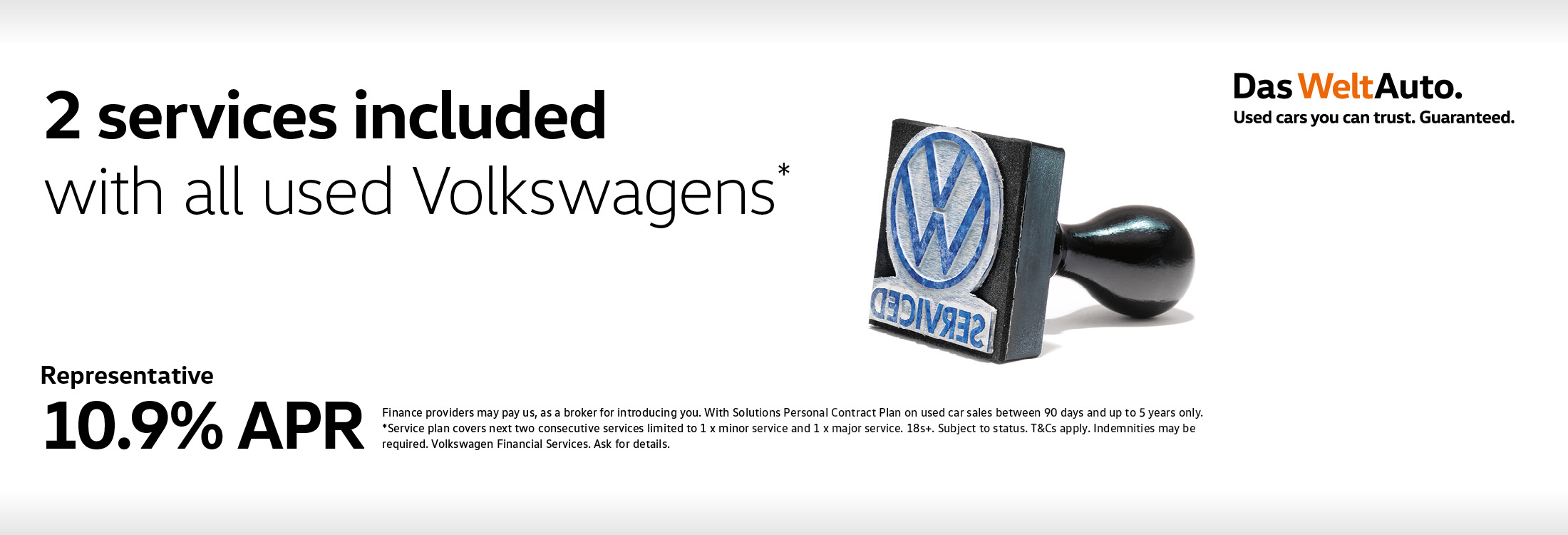 2 services included with all volkswagens