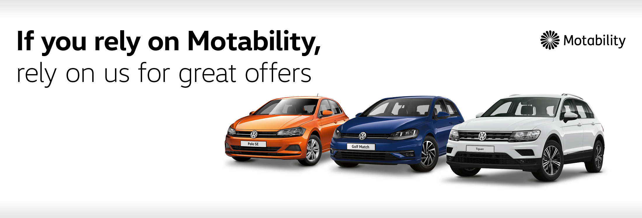 rely on us for motability