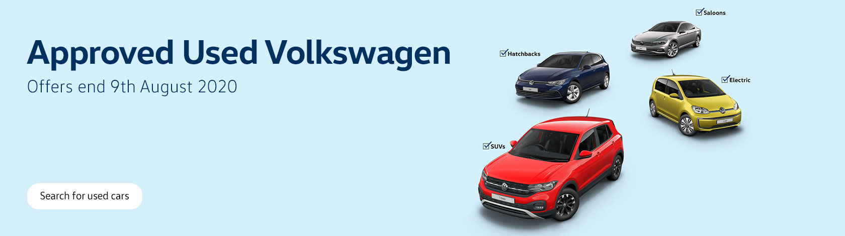 The Big Volkswagen Event Used Cars