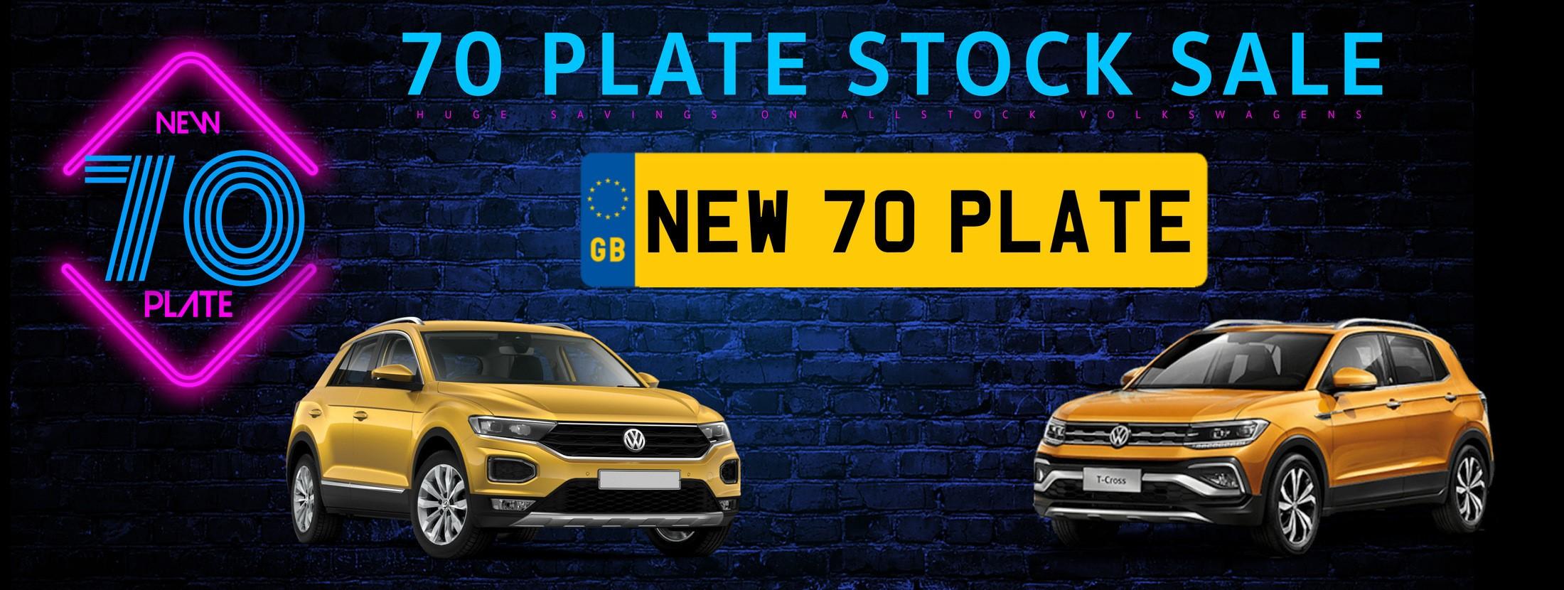 70 Plate Volkswagen