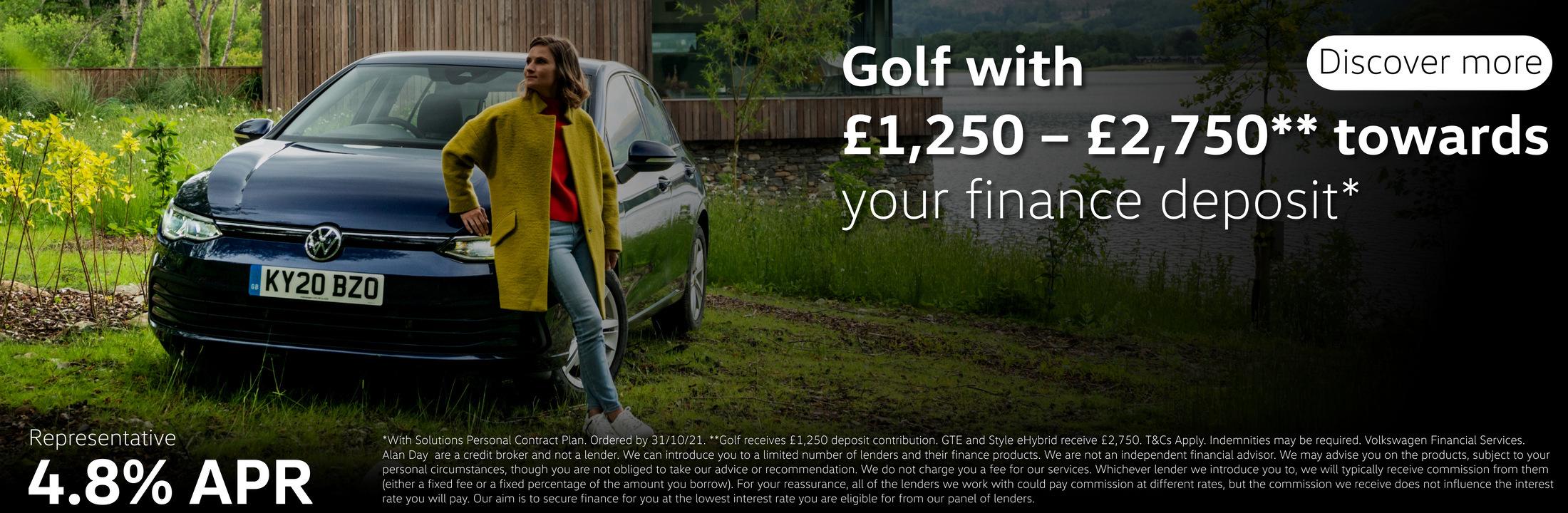 Golf 8 Offers
