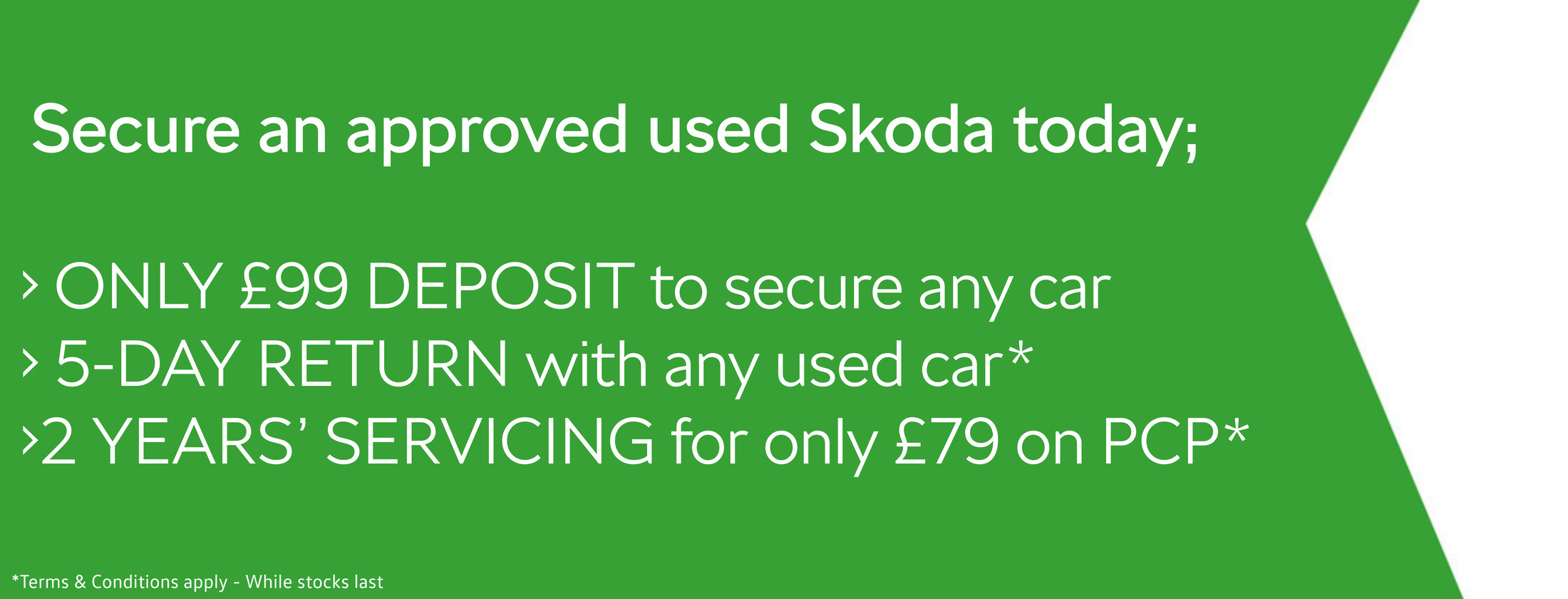 Secure a Used Skoda Today